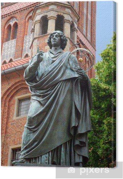 Obraz na płótnie Pomnik Mikołaja Kopernika w Toruniu - Europa