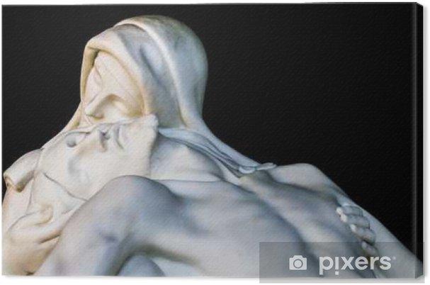 Obraz na płótnie Ponad 100 lat religijnych statua Madonny i Chrystusa (współczucie) - Religia i kultura