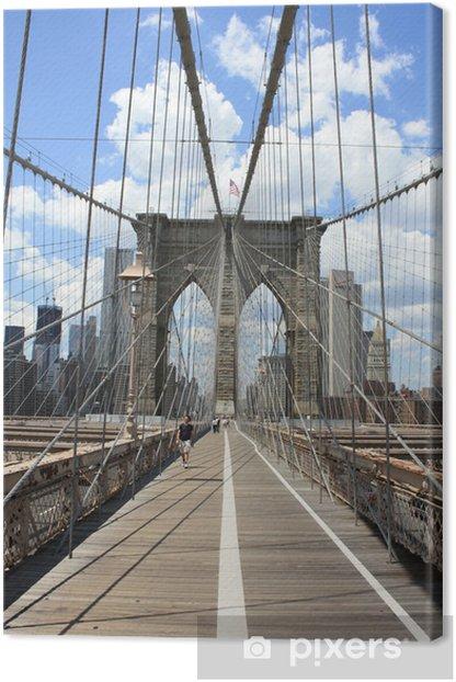 Obraz na płótnie Pont de brooklyn - Miasta amerykańskie