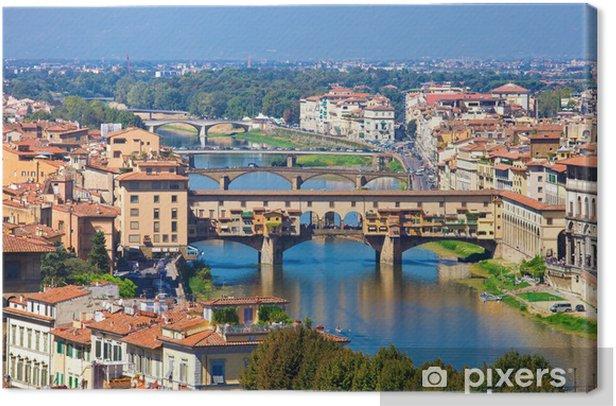 Obraz na płótnie Ponte Vecchio we Florencji - Europa