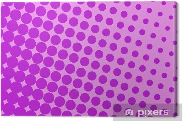 Obraz na płótnie Pop fioletowy sztuka - Style