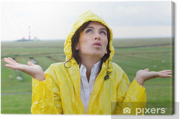 Obraz na płótnie Pora deszczowa - Pory roku