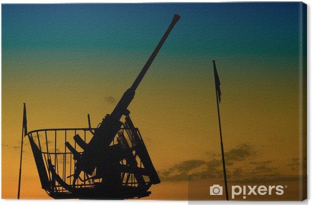 Obraz na płótnie Port d'Arromanches anty Air Battery - Życie