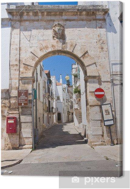 Obraz na płótnie Porta Barsento. Putignano. Apulia. Włochy. - Wakacje