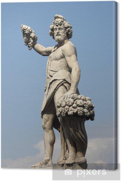 Obraz na płótnie Posąg Bachusa - Europa
