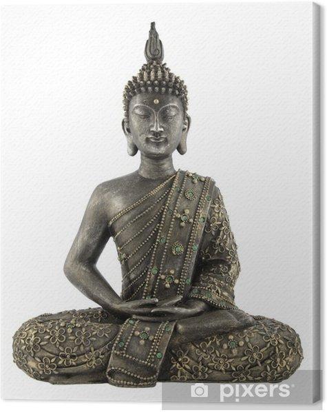 Obraz na płótnie Posąg Buddy na białym tle - Naklejki na ścianę