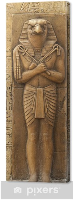 Obraz na płótnie Posąg Horusa - Afryka