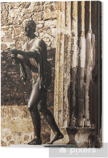 Obraz na płótnie Posąg z brązu - Europa