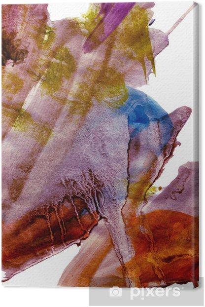 Obraz na płótnie Posiniaczone malarstwo grunge - Sztuka i twórczość