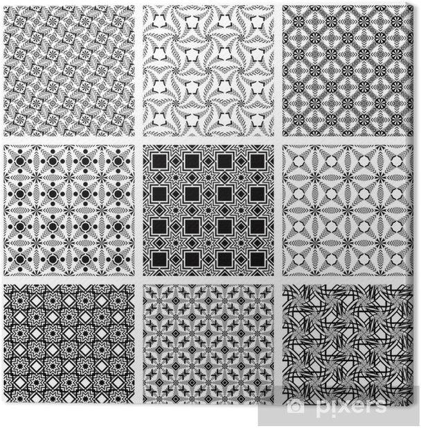 Obraz na płótnie Powtarzalne wzorów - Tła