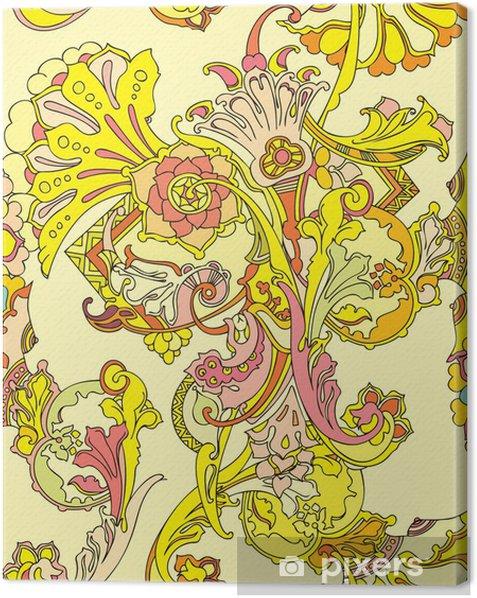 Obraz na płótnie Powtarzalne z kwiatów - Kwiaty