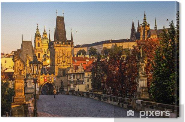 Obraz na płótnie Praga - Miasta europejskie