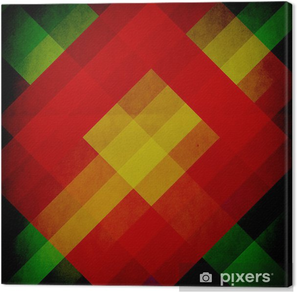 Obraz na płótnie Projektowanie graficzne (Pantone) lub (vintage plakat w tle) - Sztuka i twórczość