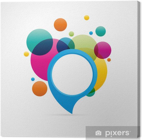 Obraz na płótnie Projektowanie logo - Znaki i symbole
