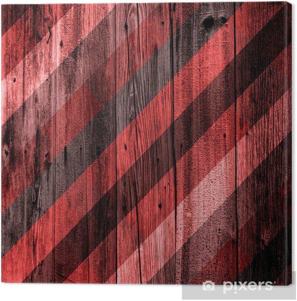 Obraz na płótnie Projektowanie wnętrz - Drewniane ściany Kolor - Sztuka i twórczość