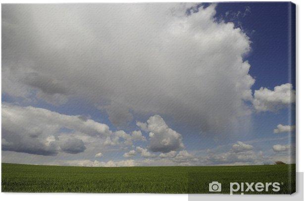 Obraz na płótnie Przed burzą - Rolnictwo