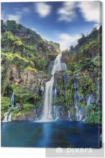 Obraz na płótnie Przegląd Basin Czaple, Reunion. - Wakacje