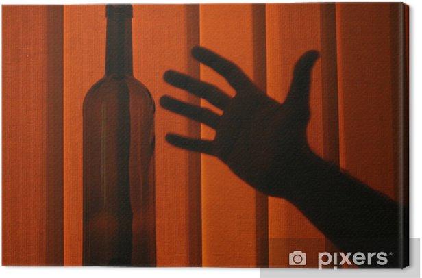 Obraz na płótnie Przestań pić - Nałogi