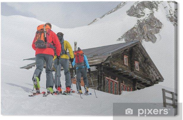 Obraz na płótnie Przychodzące tourers - Sporty zimowe
