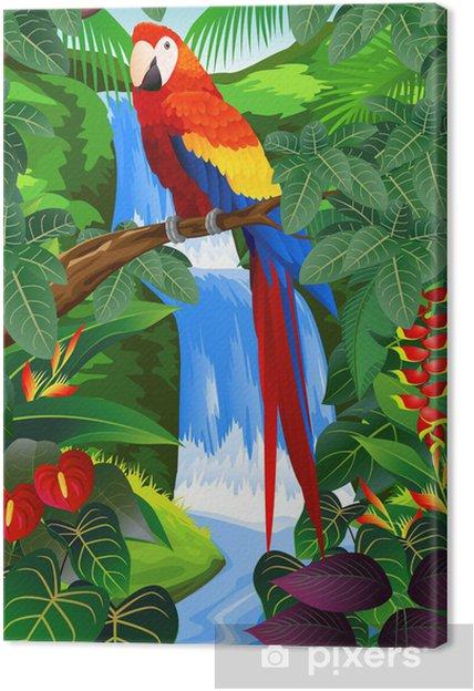 Obraz na płótnie Ptak tropikalny - Tematy