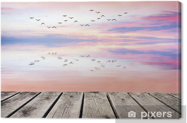 Obraz na płótnie Ptaki spojrzeć w lustro - Wakacje