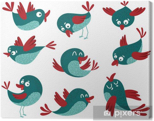 Obraz na płótnie Ptaki -