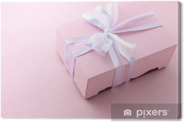 Obraz na płótnie Pudełko na prezent - Święta międzynarodowe