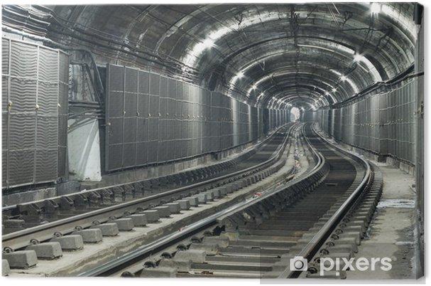 Obraz na płótnie Pusty tunel metra - Tematy