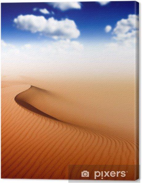 Obraz na płótnie Pustynia Sahara - Pustynia