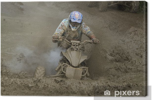 Obraz na płótnie Quad Racing - Sporty ekstremalne
