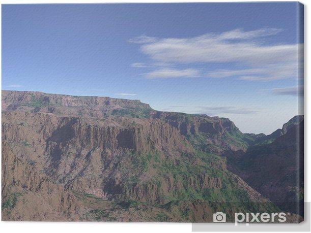 Obraz na płótnie R8 - Góry