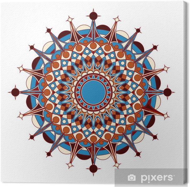 Obraz Na Plotnie Radialna Wzor Geometryczny Pixers Zyjemy By