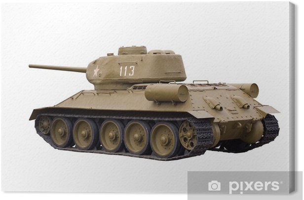 Obraz na płótnie Radziecki czołg T-34-85 - Tematy
