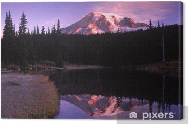 Obraz na płótnie Rainier sunrise - Góry
