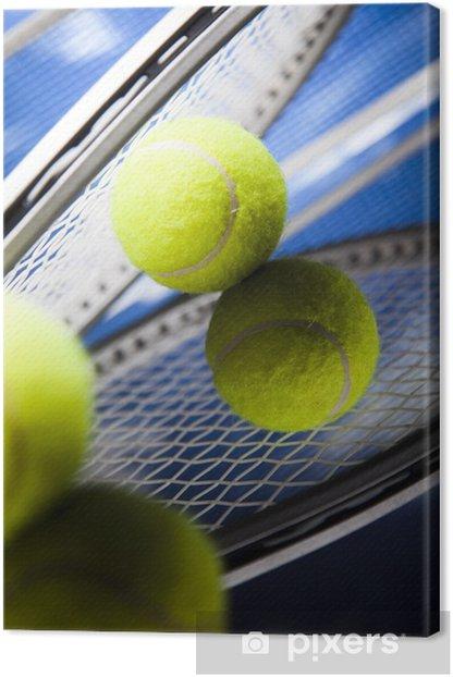 Obraz na płótnie Rakieta tenisowa i piłki, sportu - Tenis