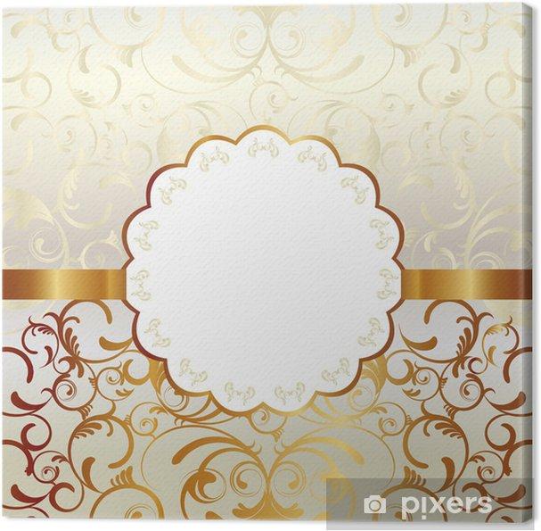 Obraz na płótnie Ramki złota - Surowce