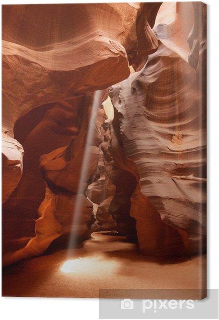 Obraz na płótnie Ray of Light Górna Kanion Antylopy Page Arizona - Religie