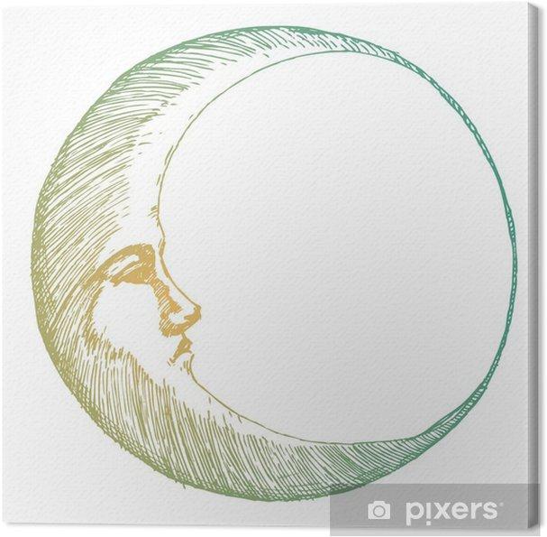 Obraz na płótnie Ręcznie rysowane księżyca - Zasoby graficzne
