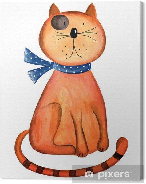 Obraz na płótnie Red Cat - Sztuka i twórczość