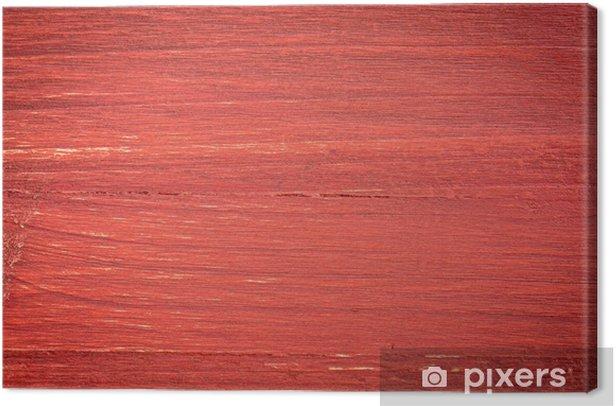 Obraz na płótnie Red Malowane tle drewna - Tła