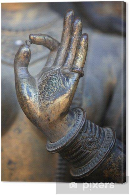 Obraz na płótnie Ręka buddy - Tematy