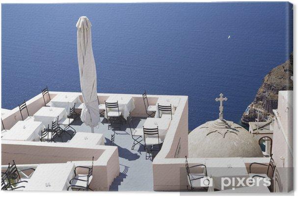 Obraz na płótnie Restauracja Śródziemnomorska - Europa