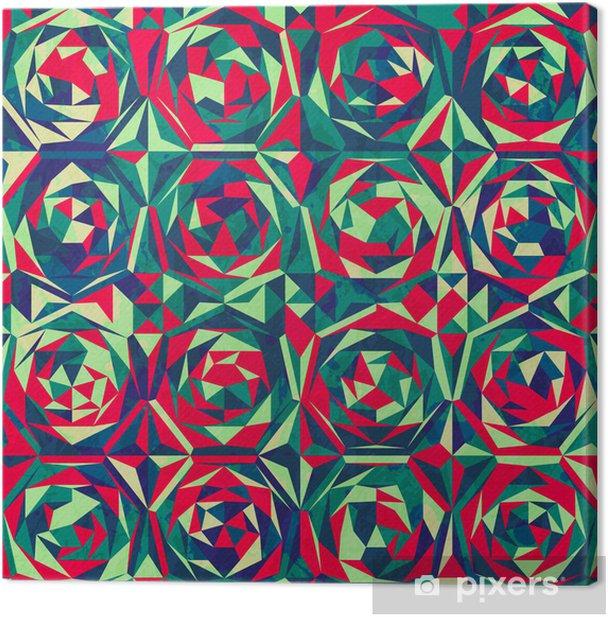 Obraz na płótnie Retro mozaika szwu z mocą gluss - Tła
