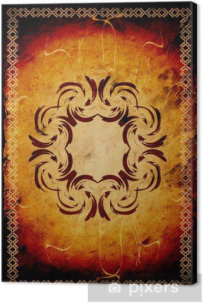 Obraz na płótnie Retroplakat - luxusetikett - Tekstury
