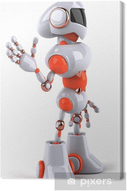 Obraz na płótnie Robot - Znaki i symbole