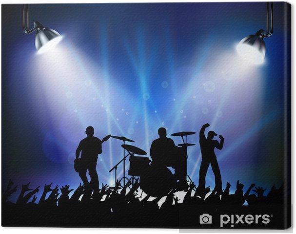Obraz na płótnie Rock Concert - Rozrywka