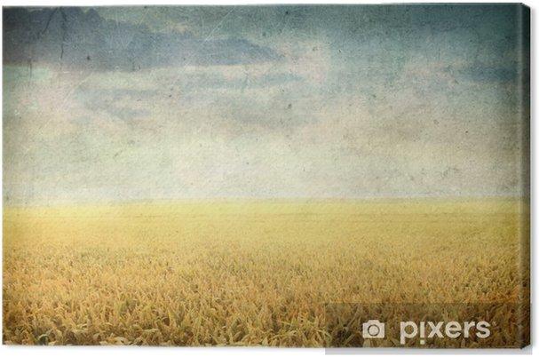 Obraz na płótnie Rocznika Kraj - Czas