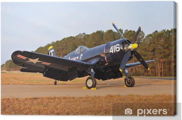 Obraz na płótnie Rocznika navy samolot - Transport powietrzny