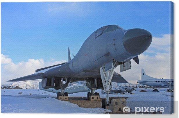 Obraz na płótnie Rocznika wojskowy samolot - Transport powietrzny
