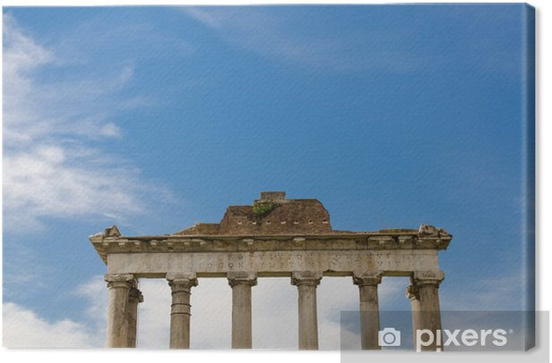 Obraz na płótnie Roman kolumny, Rzym, Włochy - Miasta europejskie